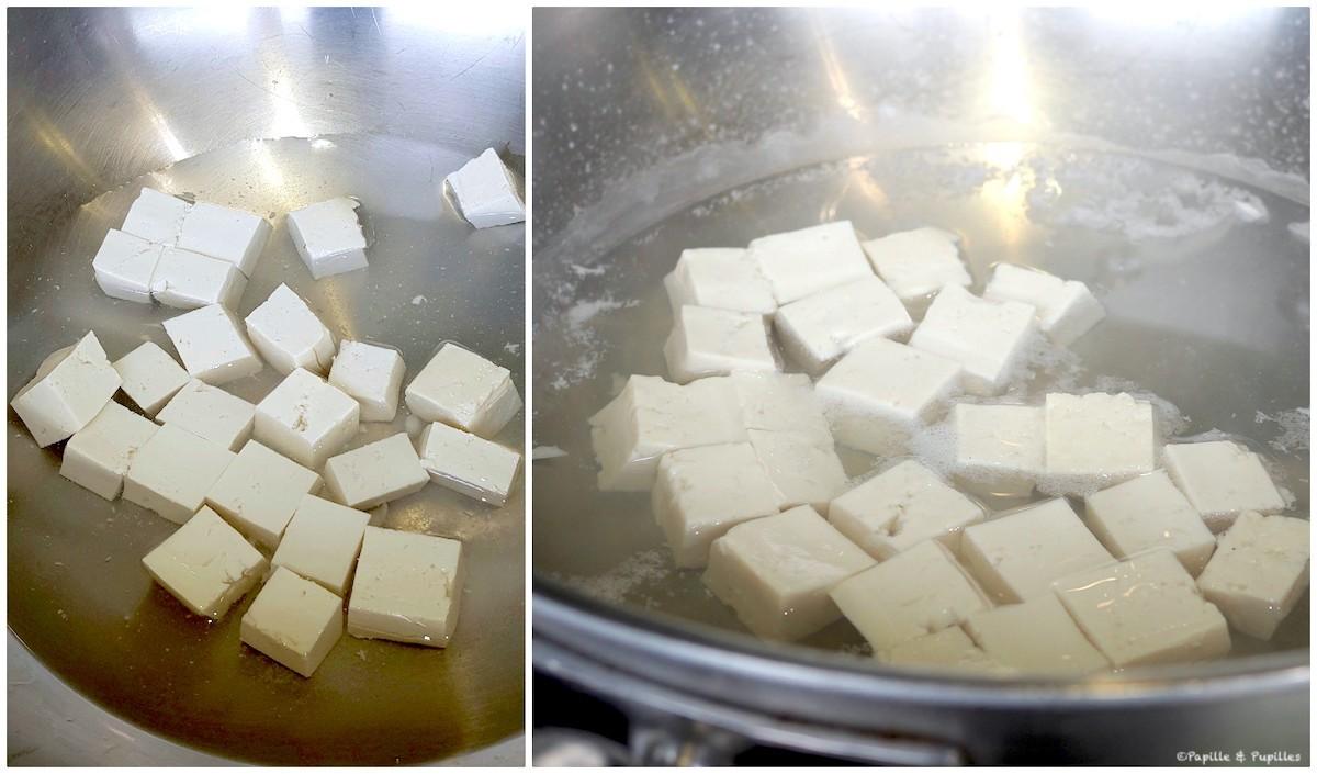 Mapo Tofu - Etape 1