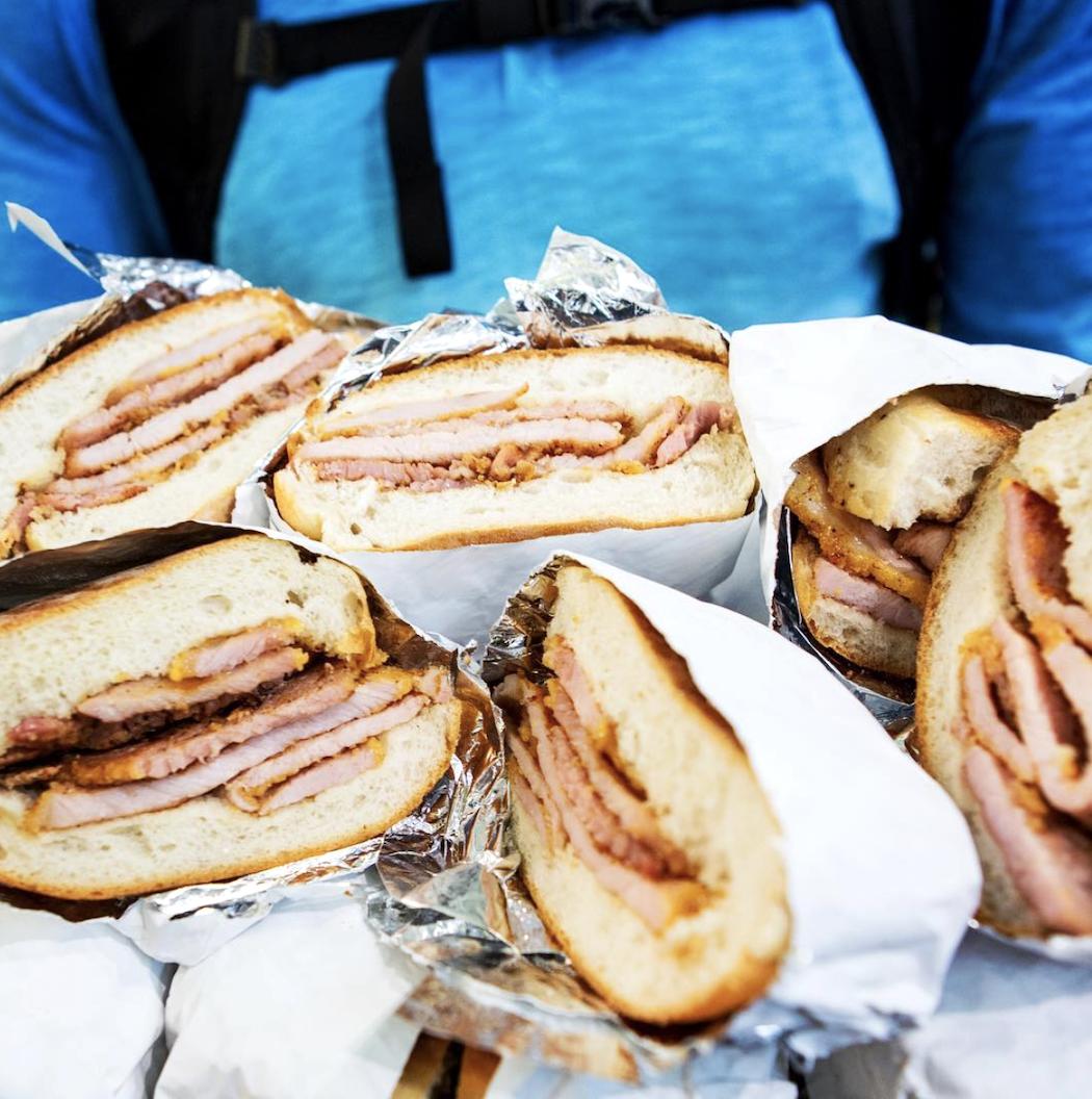 Peameal bacon - Toronto ©culinaryadvco