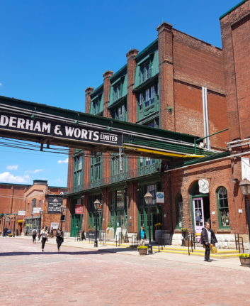 Quartier de la Distillerie - Gooderham & Worts ltd