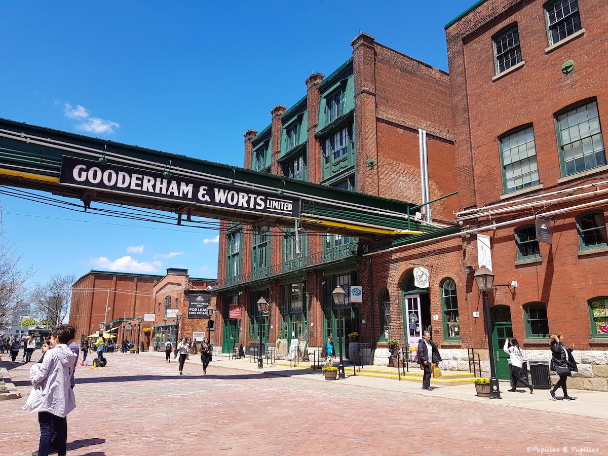 Quartier de la Distillerie - Gooderham & Worts ltd