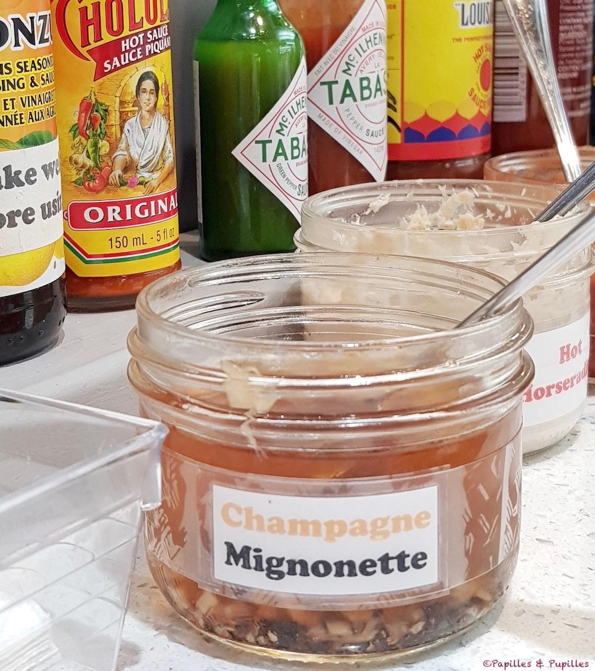 Sauce Champagne Mignonette - Mike's FishMarket - Toronto