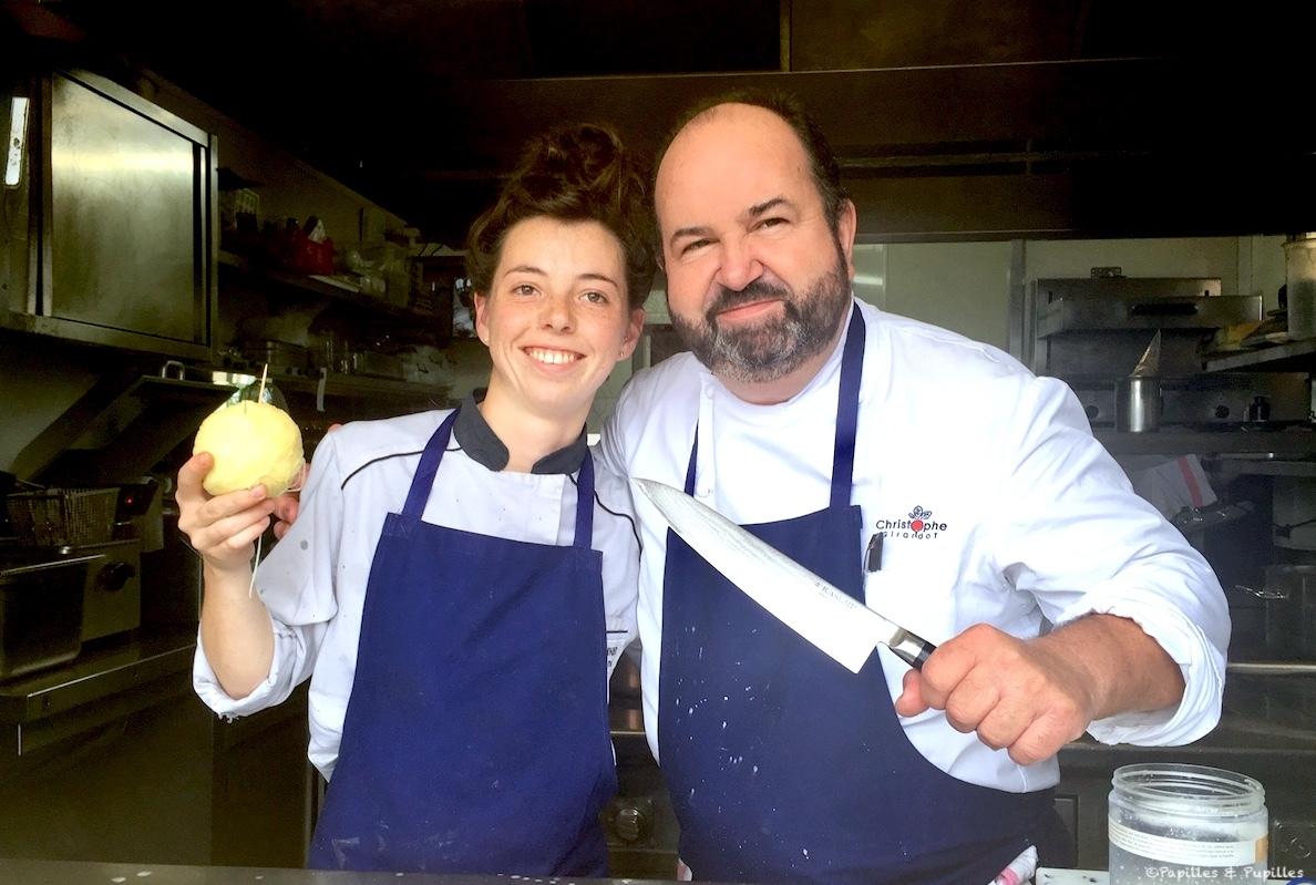 Solenn Lemonier et Christophe Girardot