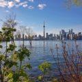 Vue sur Toronto depuis Toronto Island