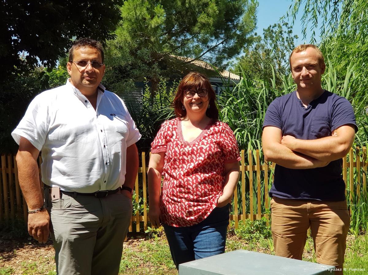 Avec Jean-François et Julien Crétet