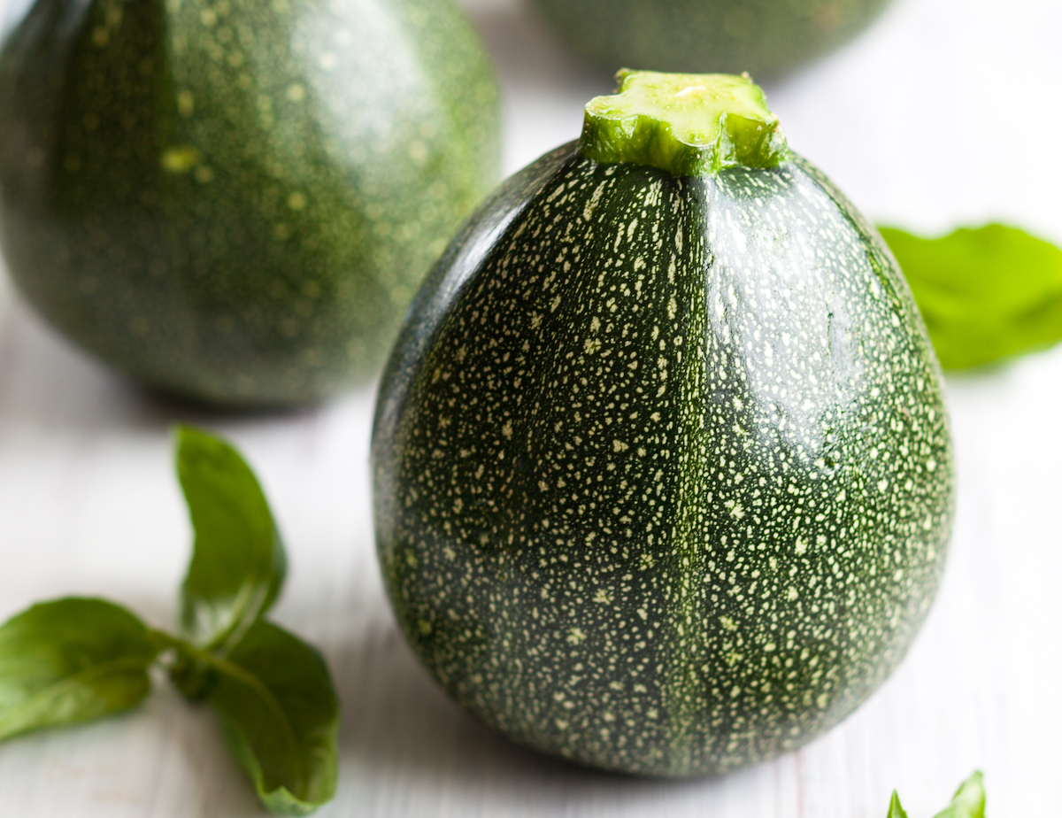 Courgettes rondes ©sarsmis shutterstock