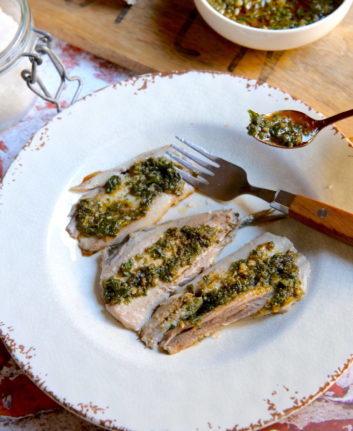 Filets de sardines à la chermoula