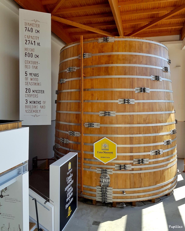Fût de vieillissement vinaigre balsamique de Modène IGP - Casa Mazzetti