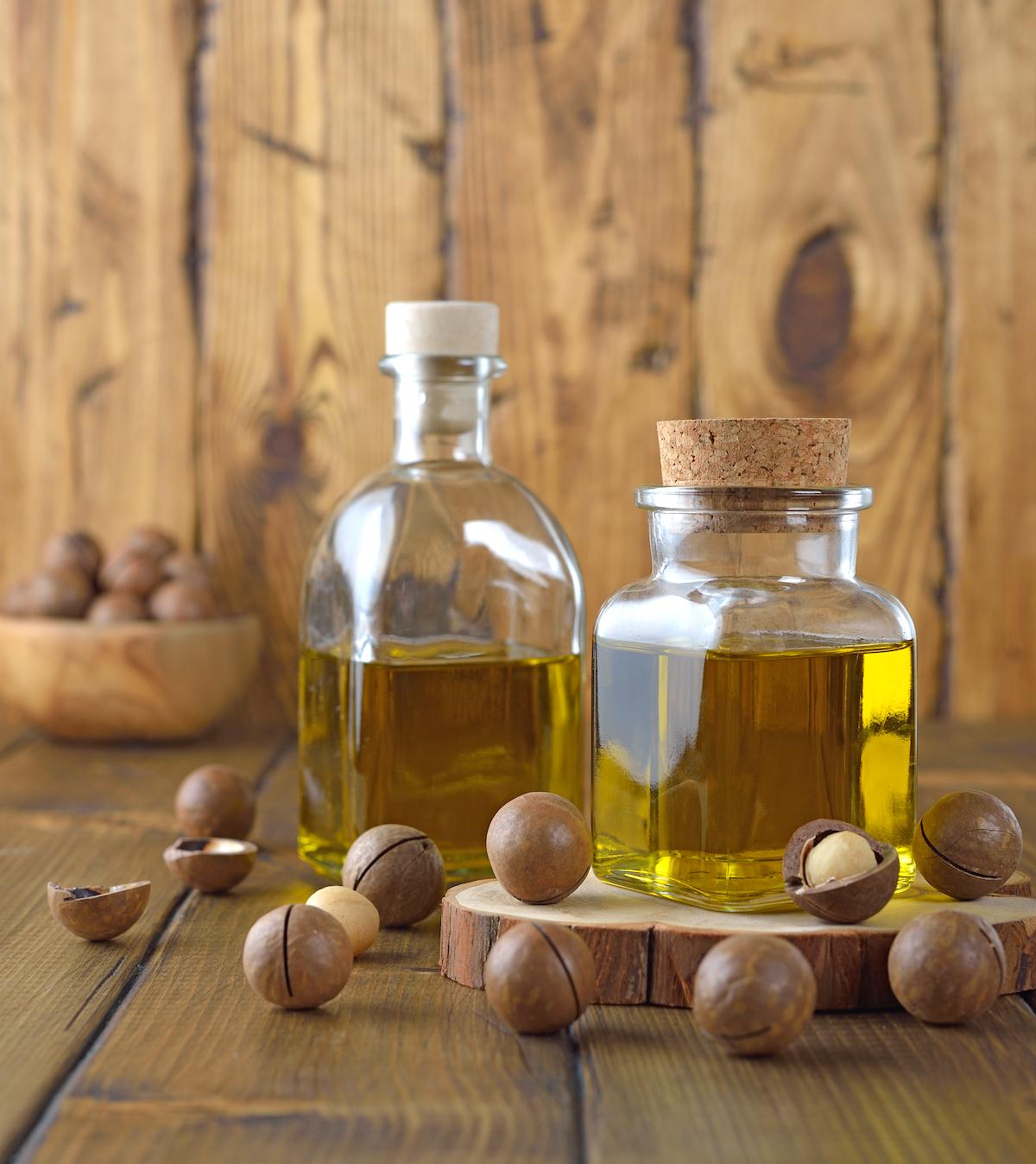 Huile de noix de macadamia ©Olyina V shutterstock
