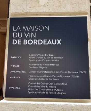 La Maison du vin de Bordeaux