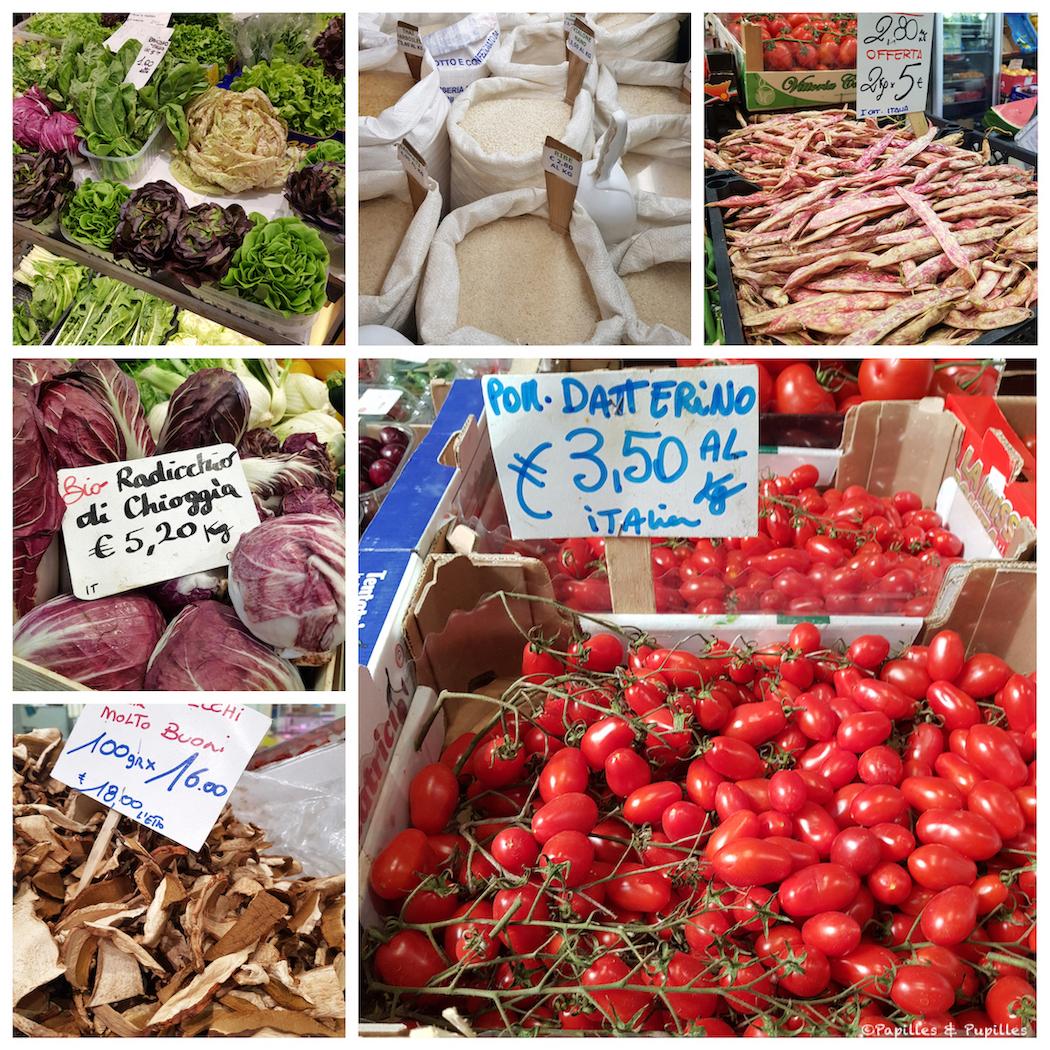 Le marché de Modène
