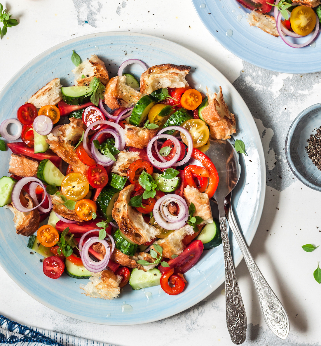 Panzanella ©Tatiana Vorona shutterstock