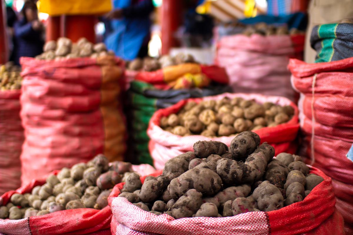 Pommes de terre ©De Myriam B shutterstock