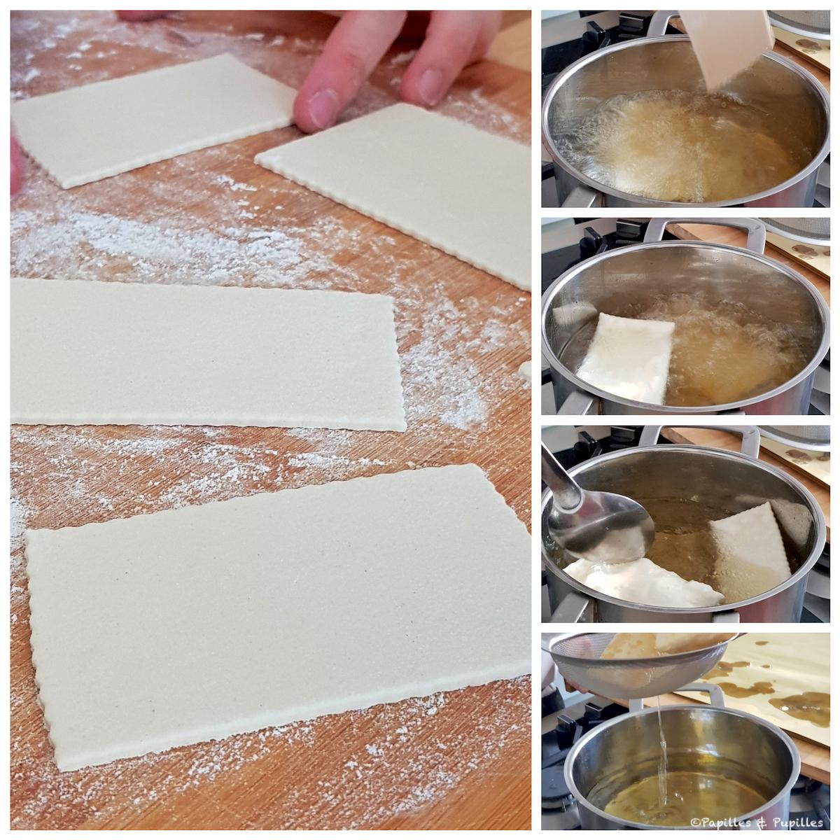 Préparation des gnocco fritto