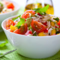 Salade de riz tomate poivron basilic persil ©De Barbara Dudzinska shutterstockv