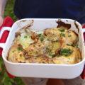 Cuisses de poulet à la moutarde, vin blanc et échalote