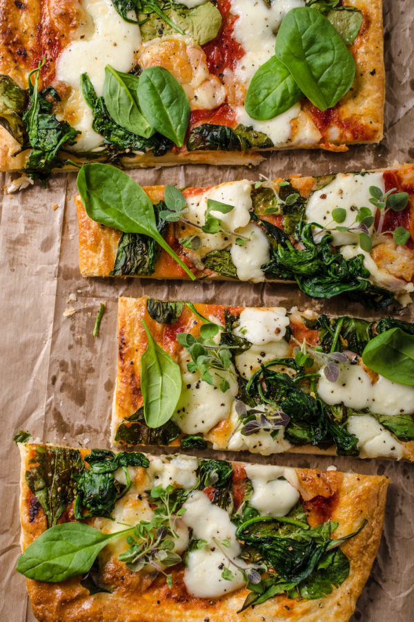 Pizza au pesto © Stepanek Photography shutterstock