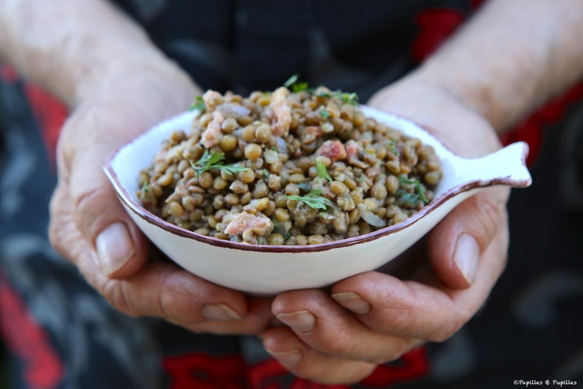 Salade de lentilles blondes de Saint Flour