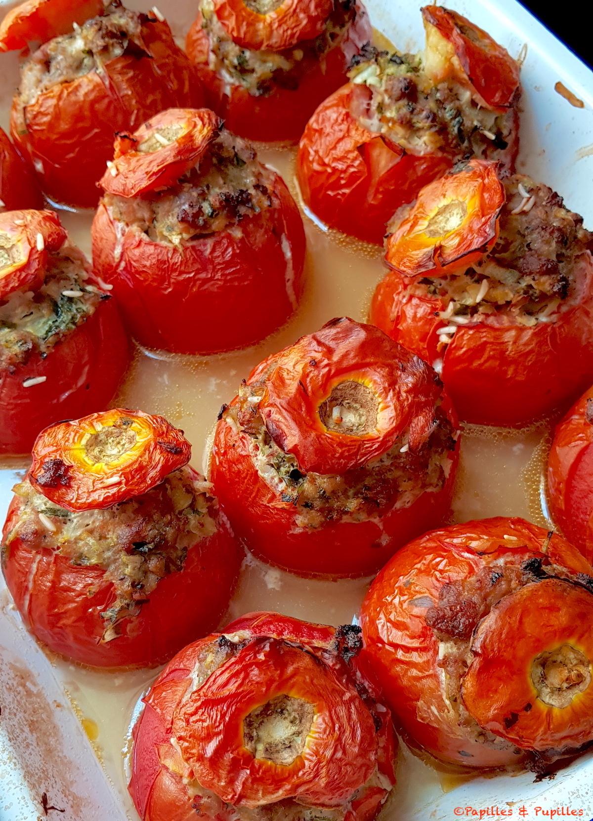 Tomates farcies cuites