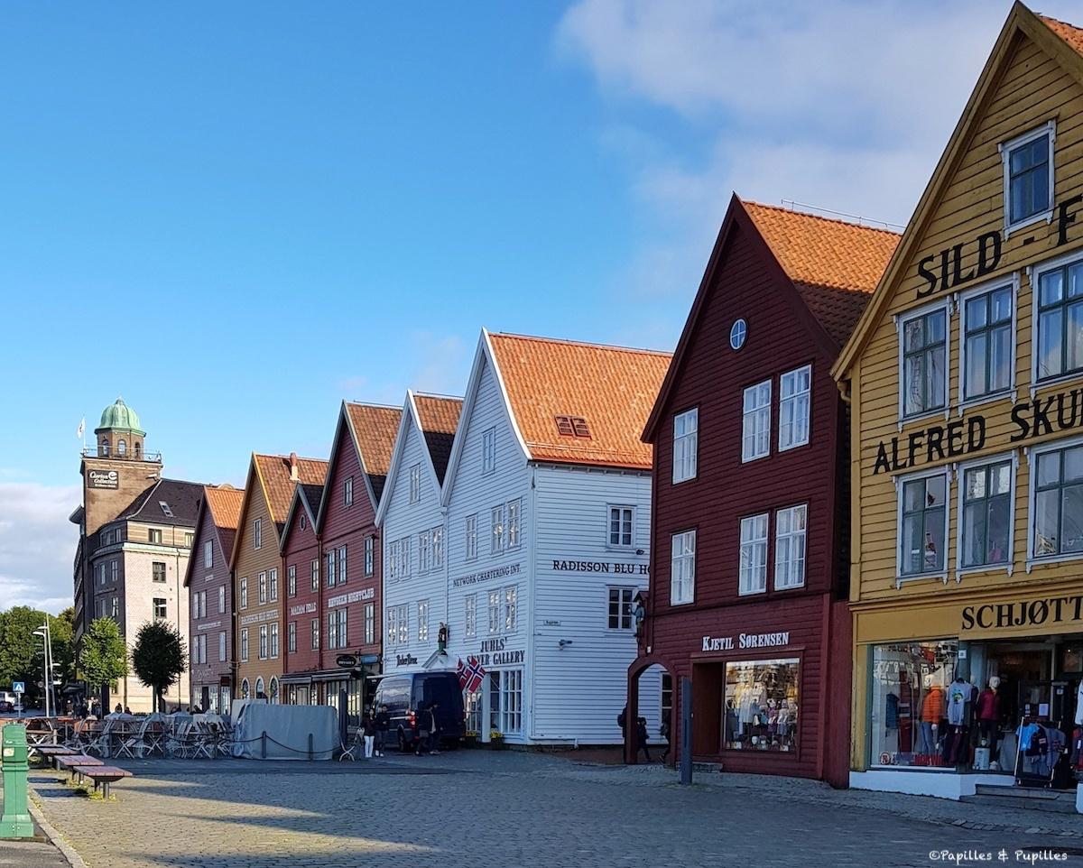 Bergen - Maisons hanséatiques