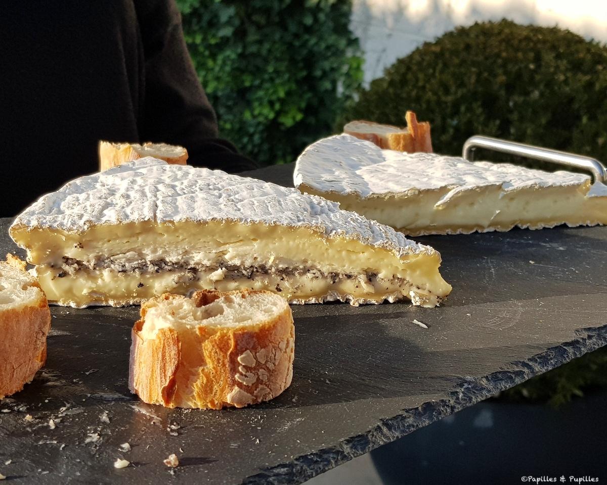 Brie de Meaux et Brie de Meaux truffé