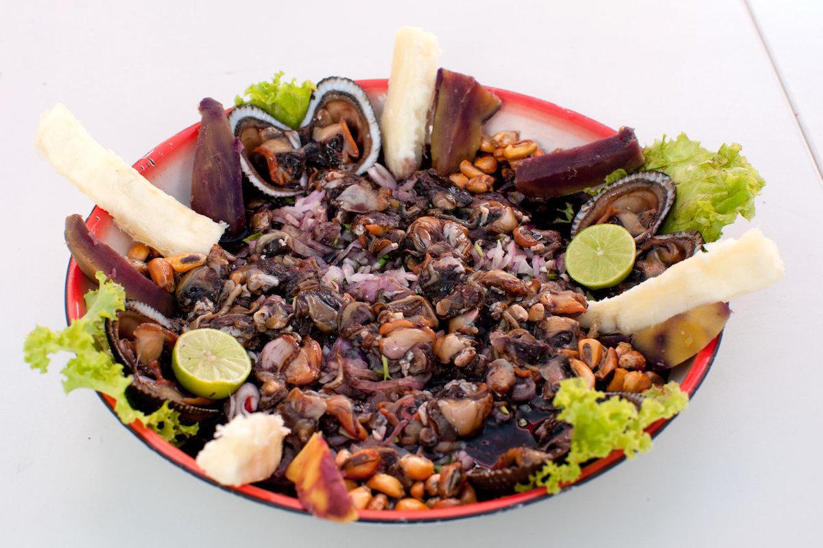 Ceviche de conchas negras ©promperu