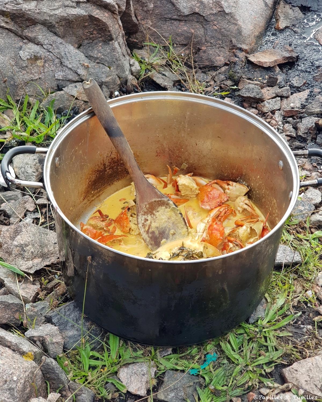La soupe aux crabes