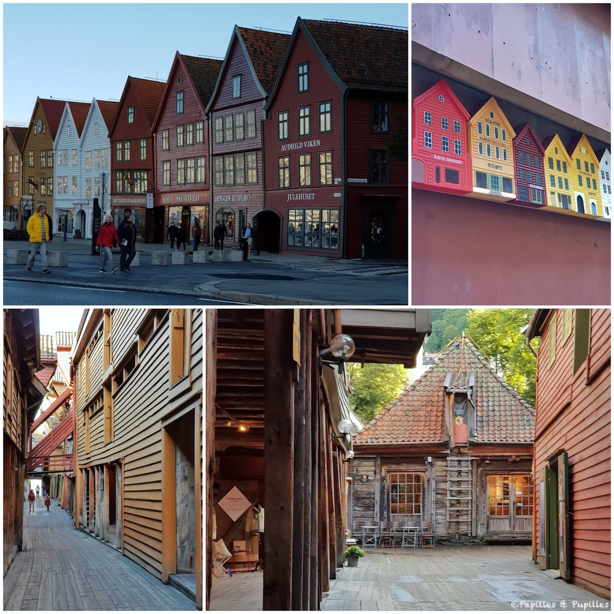Le port de Bryggen - Bergen