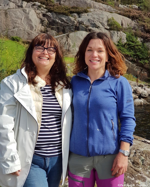 Photo souvenir - Anne et Marianne