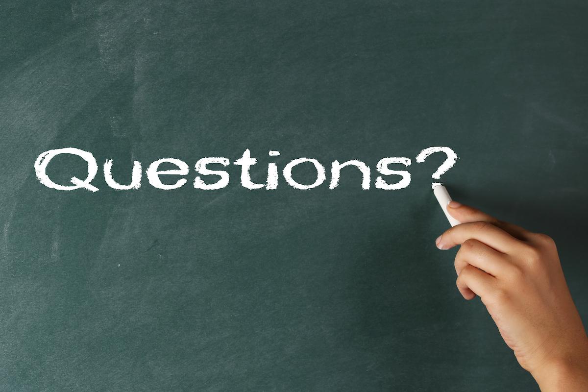 Questions ©shutteratakan Shutterstock