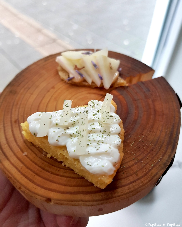 Restaurant Einer - Cake aux oignons et lait ribot jpeg