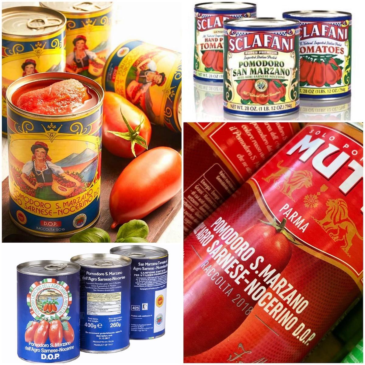 Conserves de tomates San Marzano
