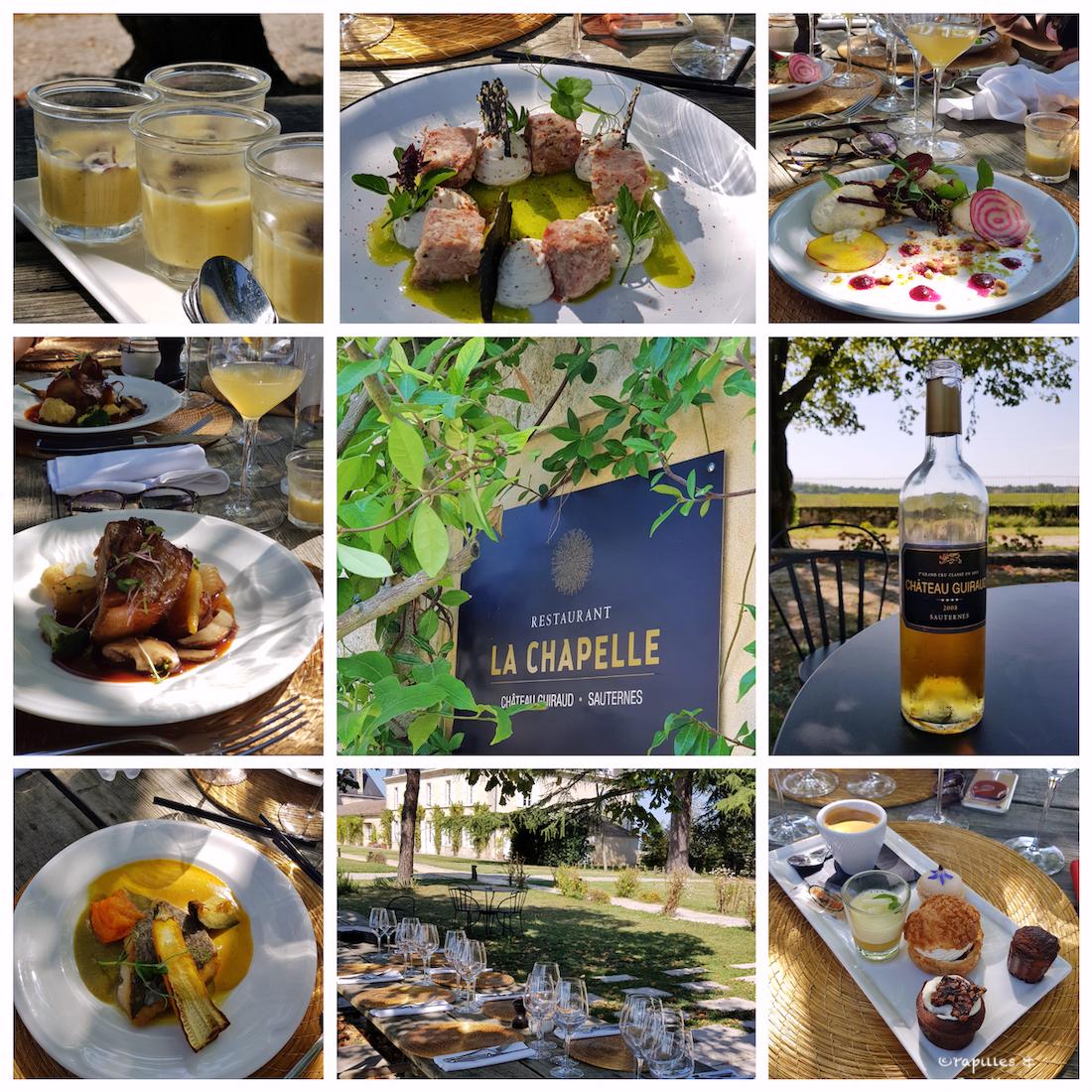 Déjeuner à La Chapelle - Château Guiraud