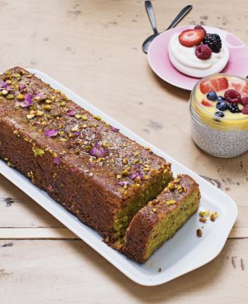 Gâteau à la pistache - Café PImpin