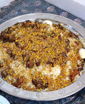 Machboos - Riz au poulet et aux épices