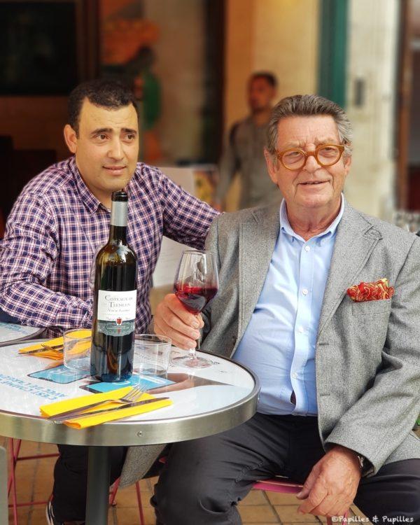 Maouche Rabah et Jean Pierre Xiradakis