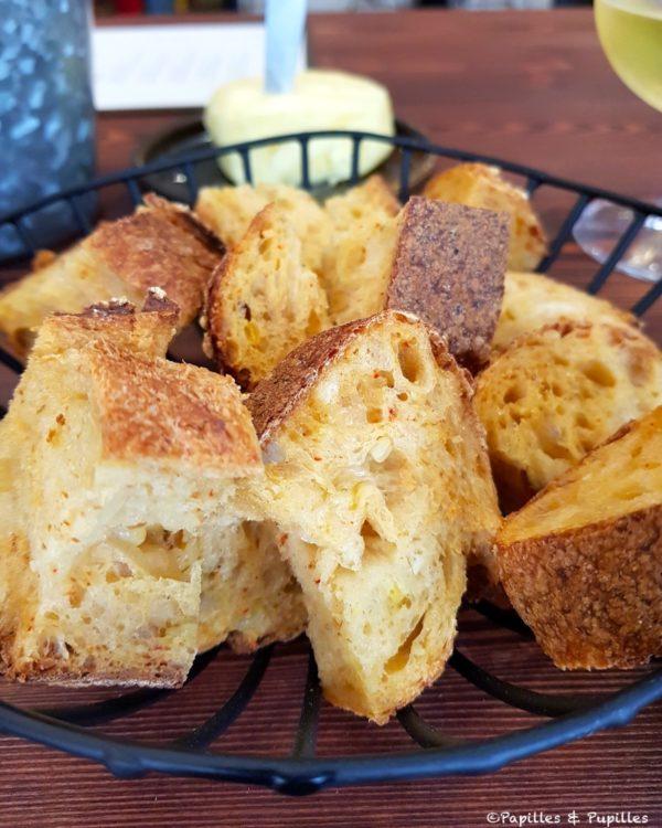 Pain au maïs et au piment d'Espelette - Constanti