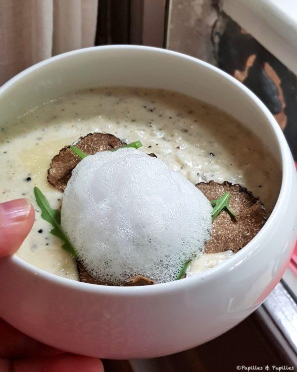 Risotto à la truffe, lié au Parmesan