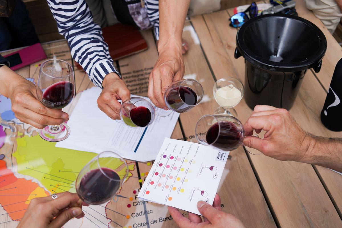 Les ateliers gourmands de l'Ecole du Vin de Bordeaux