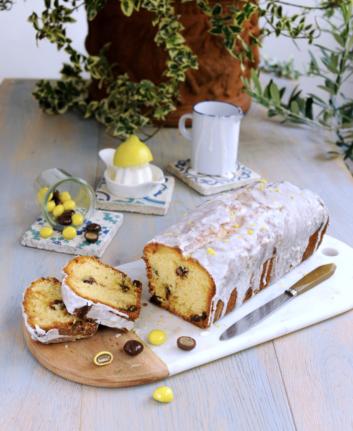 Cake au citron confit et au deux chocolats de François Doucet