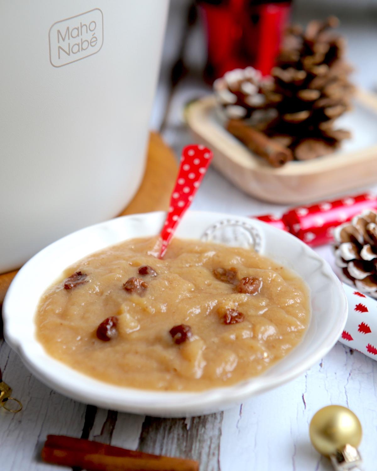Compote de poires de Noël
