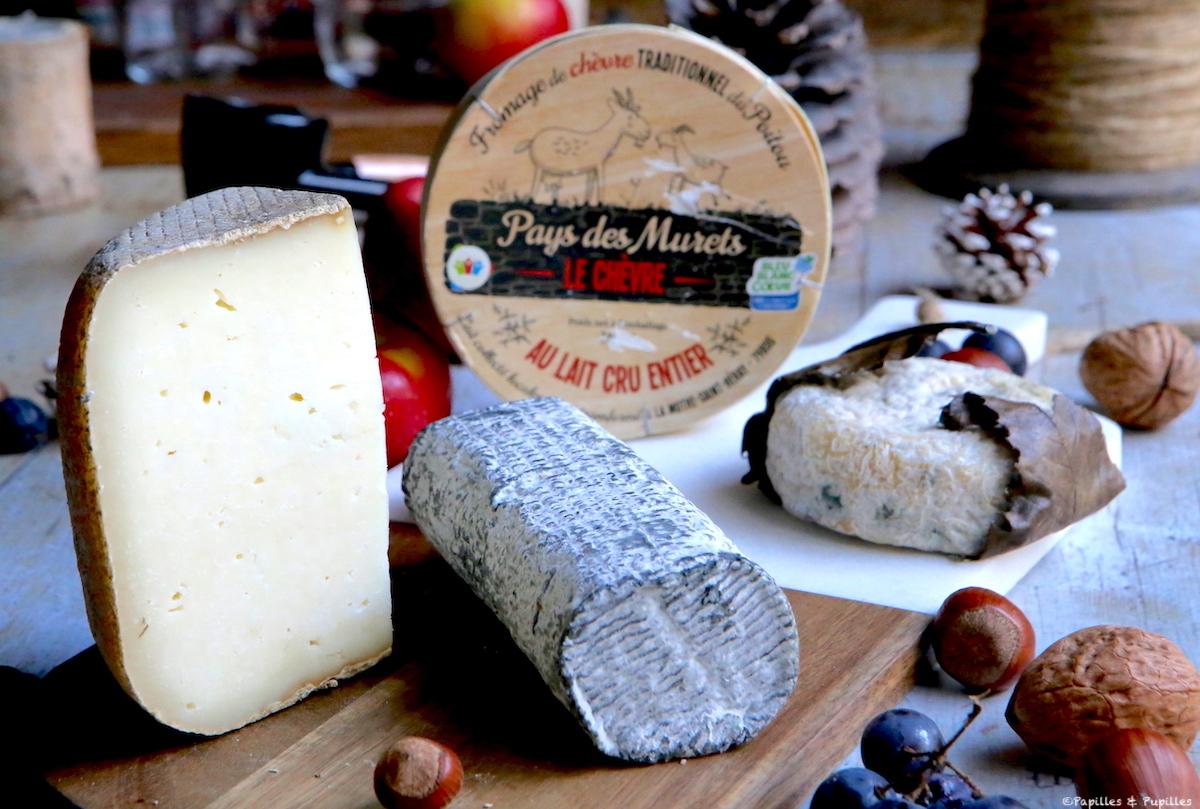 Plateau de fromages de chèvre - Nouvelle Aquitaine