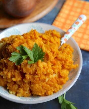 Purée carottes et pommes de terre