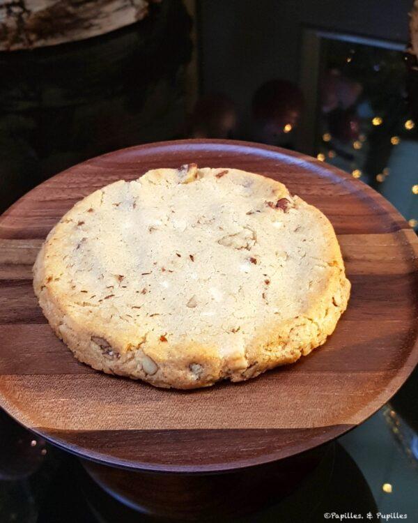 Cookie aux noix de pécan et chocolat blanc
