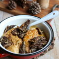 Escalopes de poulet à la crème et aux morilles