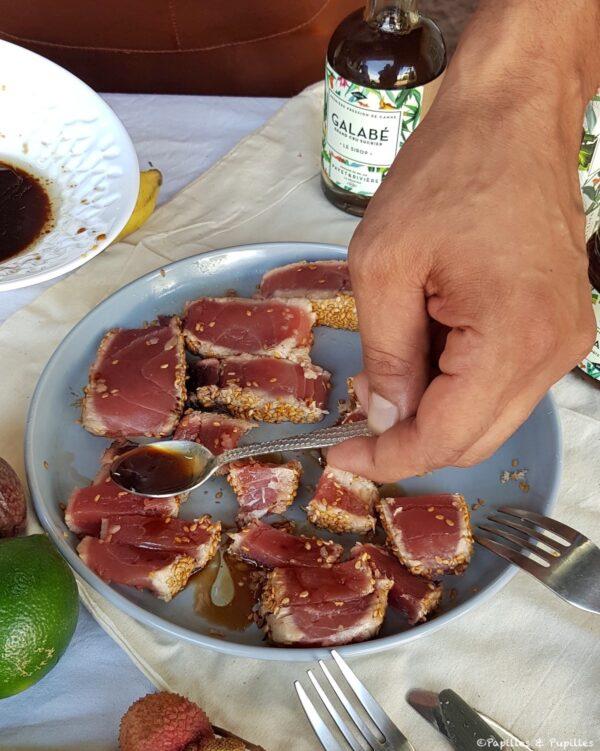 Galabé - Tataki de thon