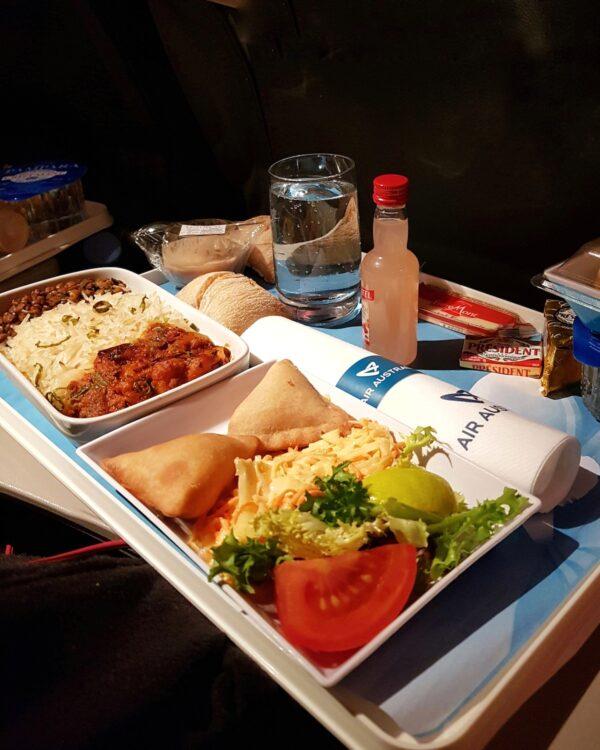 Plateau repas créole - Air Austral