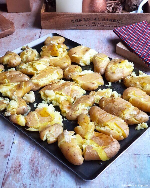 Pommes de terre écrasées