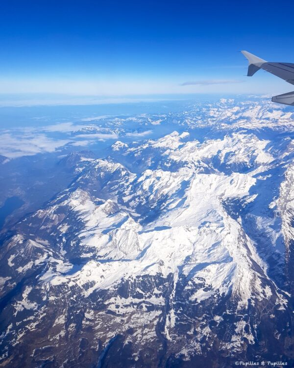 Alpes - Vue du ciel