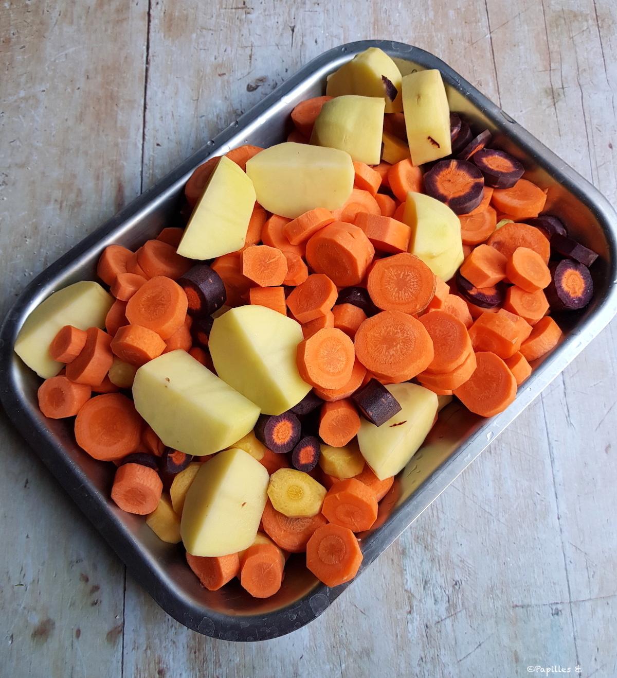 Carottes et pommes de terre