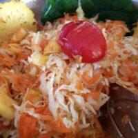 Achards de carottes et ananas